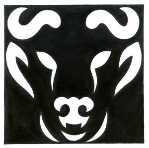 TAUREAU noir